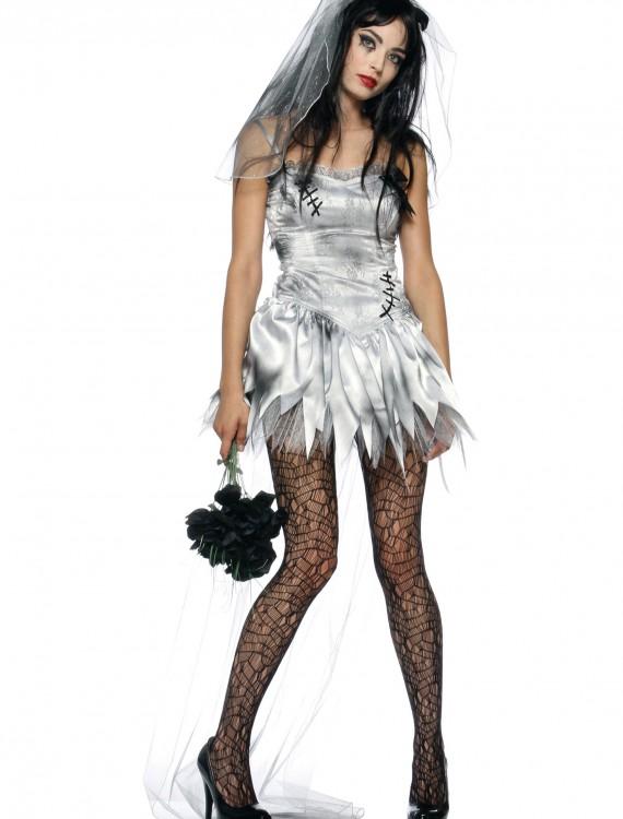 Sexy Zombie Bride Costume, halloween costume (Sexy Zombie Bride Costume)