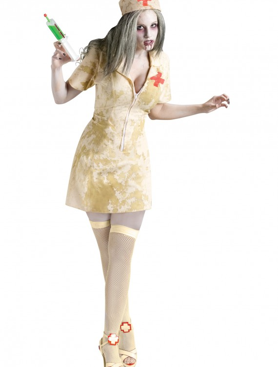 Sexy Zombie Nurse Costume, halloween costume (Sexy Zombie Nurse Costume)