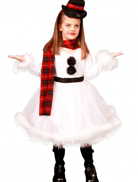 Shelby the Snowman Costume, halloween costume (Shelby the Snowman Costume)