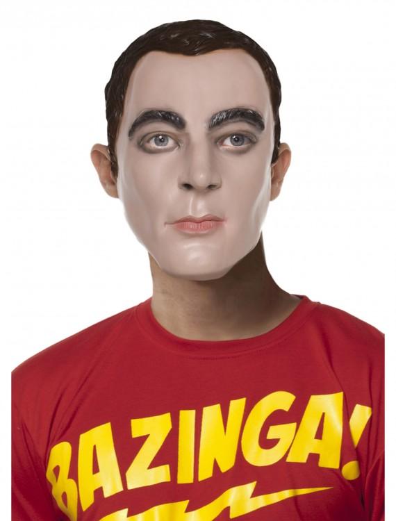 Sheldon Mask, halloween costume (Sheldon Mask)