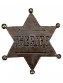 Sheriff Star Badge, halloween costume (Sheriff Star Badge)