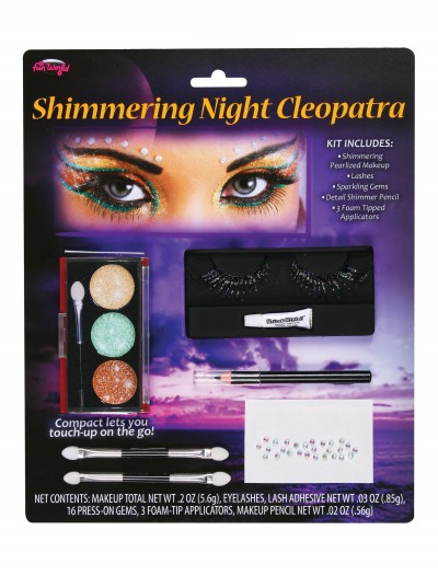 Shimmering Cleopatra Makeup Kit, halloween costume (Shimmering Cleopatra Makeup Kit)