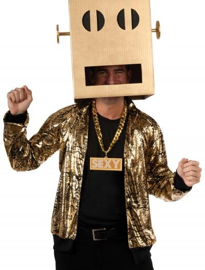 Shuffle Bot Headpiece, halloween costume (Shuffle Bot Headpiece)