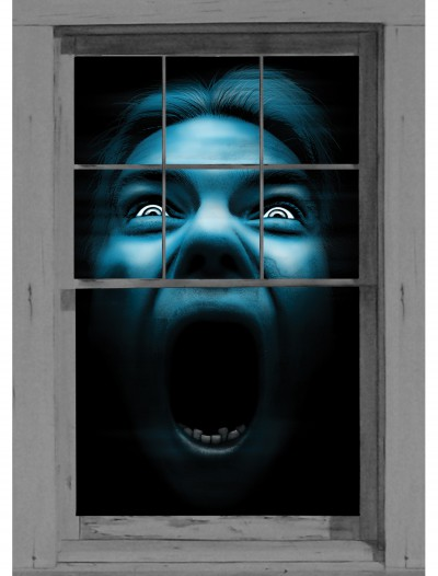 Silent Shrieker Window Cling, halloween costume (Silent Shrieker Window Cling)