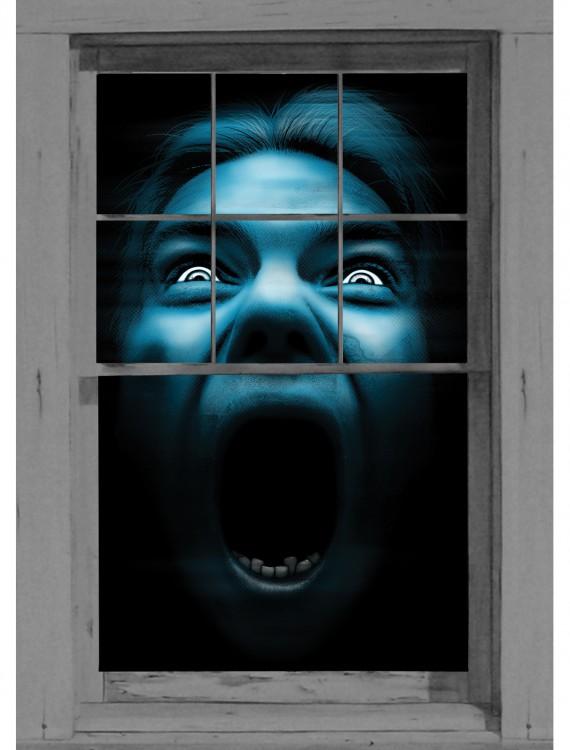 Silent Shrieker Window Cling, halloween costume (Silent Shrieker Window Cling)