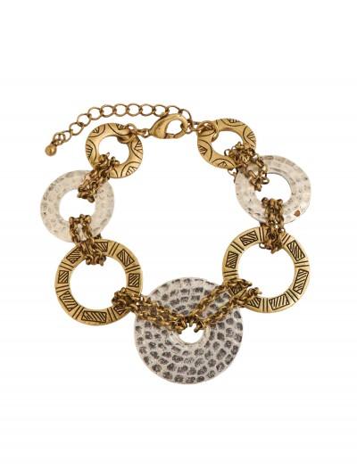Silver and Gold Loop Bracelet, halloween costume (Silver and Gold Loop Bracelet)