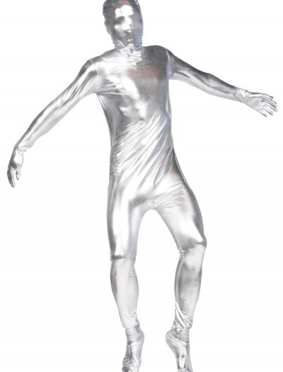 Silver Invisible Man Suit, halloween costume (Silver Invisible Man Suit)