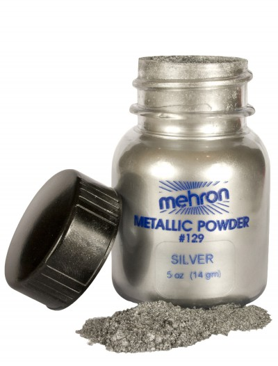 Silver Metallic Powder Makeup, halloween costume (Silver Metallic Powder Makeup)