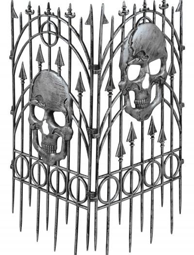 Silver Skull Fence, halloween costume (Silver Skull Fence)