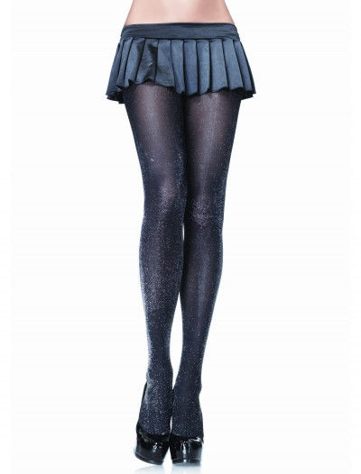 Silver Sparkle Tights, halloween costume (Silver Sparkle Tights)