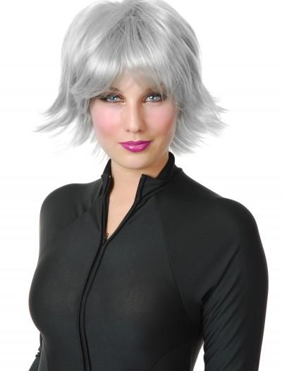 Silver Superhero Wig, halloween costume (Silver Superhero Wig)