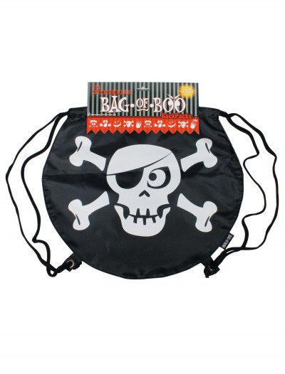 Skeleboo Drawstring Backpack, halloween costume (Skeleboo Drawstring Backpack)
