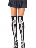 Skeleton Knee High Socks, halloween costume (Skeleton Knee High Socks)