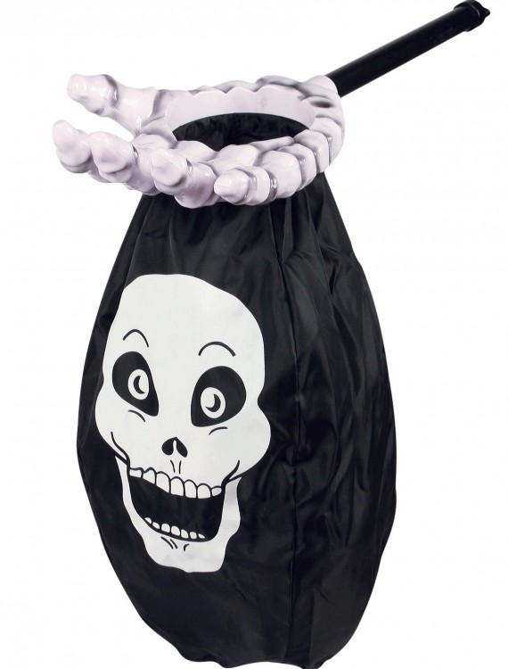 Skeleton Loot Scoop, halloween costume (Skeleton Loot Scoop)