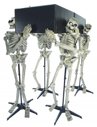 Skeleton Pall Bearers, halloween costume (Skeleton Pall Bearers)
