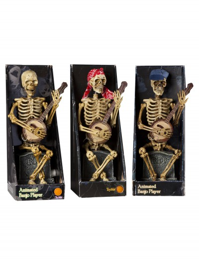 Skeleton Playing Banjo, halloween costume (Skeleton Playing Banjo)