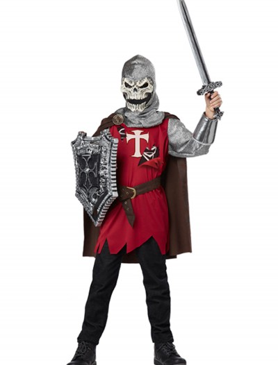 Skull Knight Child Costume, halloween costume (Skull Knight Child Costume)