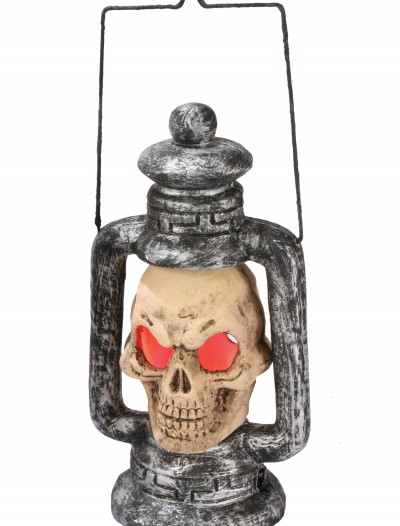 Skull Light Up Lantern, halloween costume (Skull Light Up Lantern)