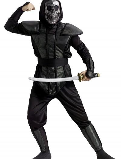 Skull Ninja Master Costume, halloween costume (Skull Ninja Master Costume)