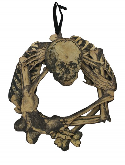 Skull Wreath, halloween costume (Skull Wreath)