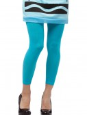 Sky Blue Crayon Leggings, halloween costume (Sky Blue Crayon Leggings)