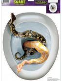 Snake Toilet Topper, halloween costume (Snake Toilet Topper)