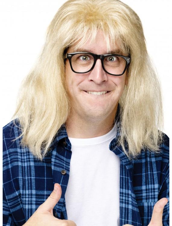 SNL Garth Algar Wig, halloween costume (SNL Garth Algar Wig)