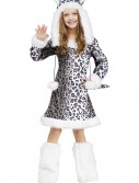 Snow Leopard Child Costume, halloween costume (Snow Leopard Child Costume)