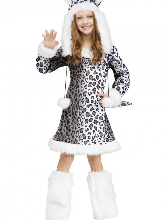Snow Leopard Child Costume, halloween costume (Snow Leopard Child Costume)