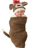 Sock Monkey Newborn Bunting, halloween costume (Sock Monkey Newborn Bunting)