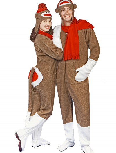 Sock Monkey Pajama Costume, halloween costume (Sock Monkey Pajama Costume)