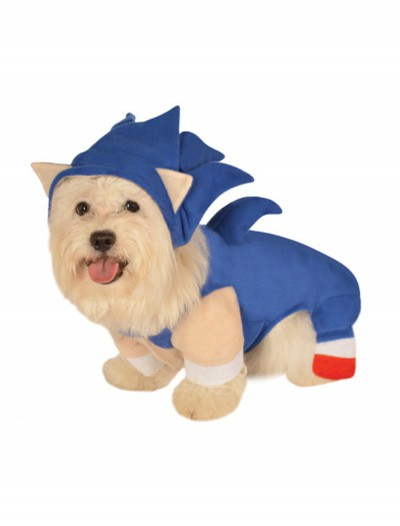 Sonic the Hedgehog Pet Costume, halloween costume (Sonic the Hedgehog Pet Costume)