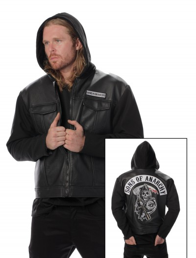 Sons of Anarchy Leather Jacket, halloween costume (Sons of Anarchy Leather Jacket)