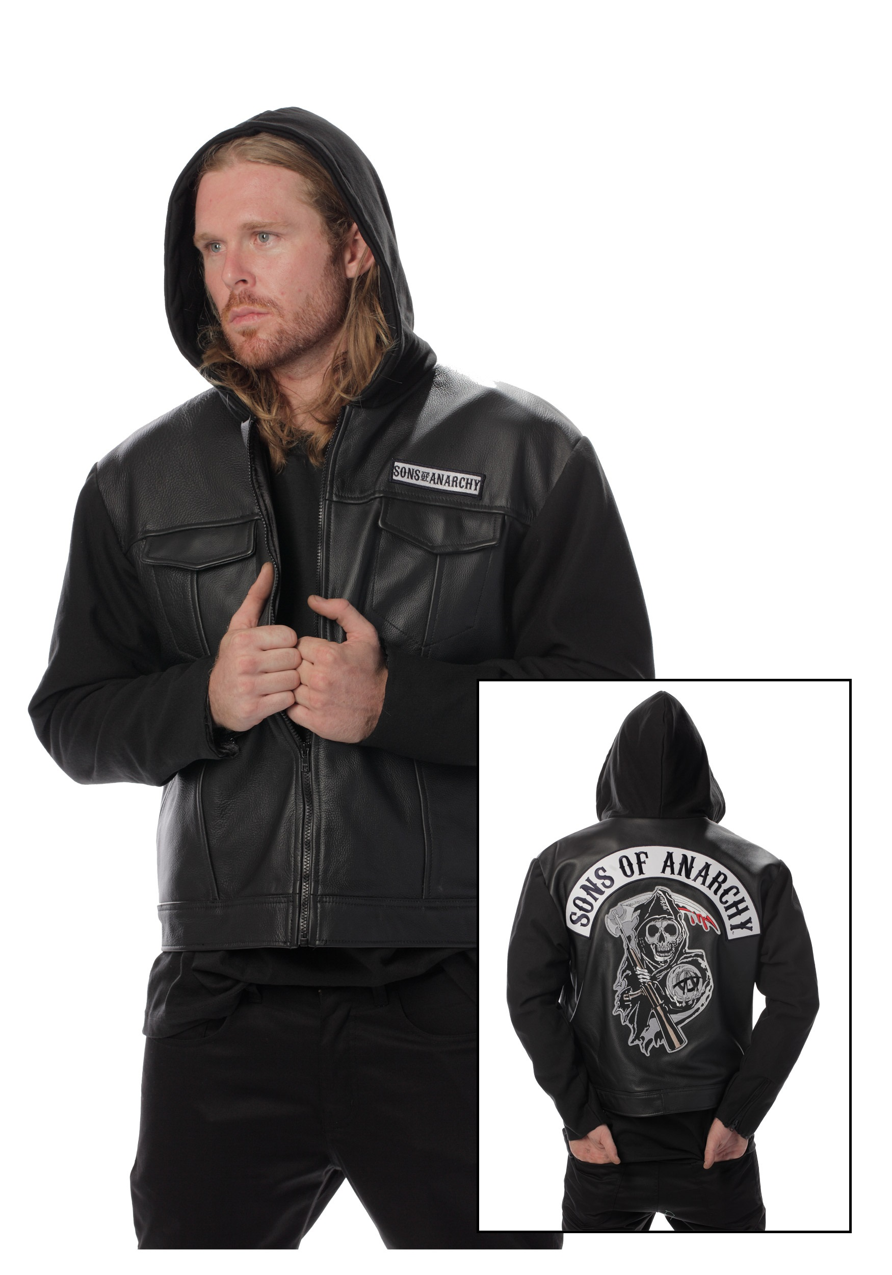 Sons of Anarchy Leather Jacket  sc 1 st  Halloween Costumes & Sons of Anarchy Leather Jacket - Halloween Costumes