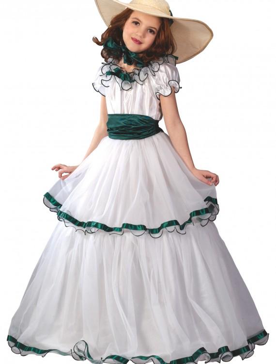 Southern Belle Kids Costume, halloween costume (Southern Belle Kids Costume)