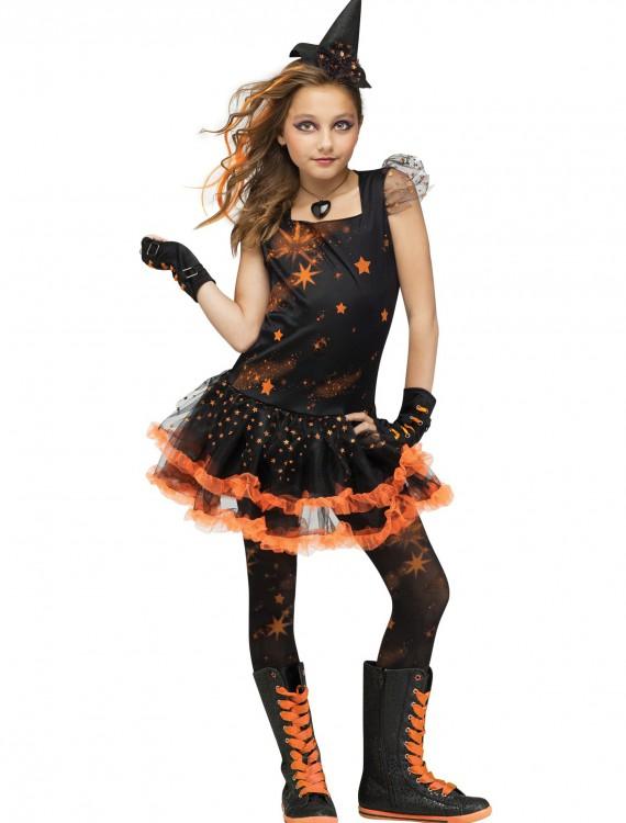 Sparkle Star Witch Child Costume, halloween costume (Sparkle Star Witch Child Costume)