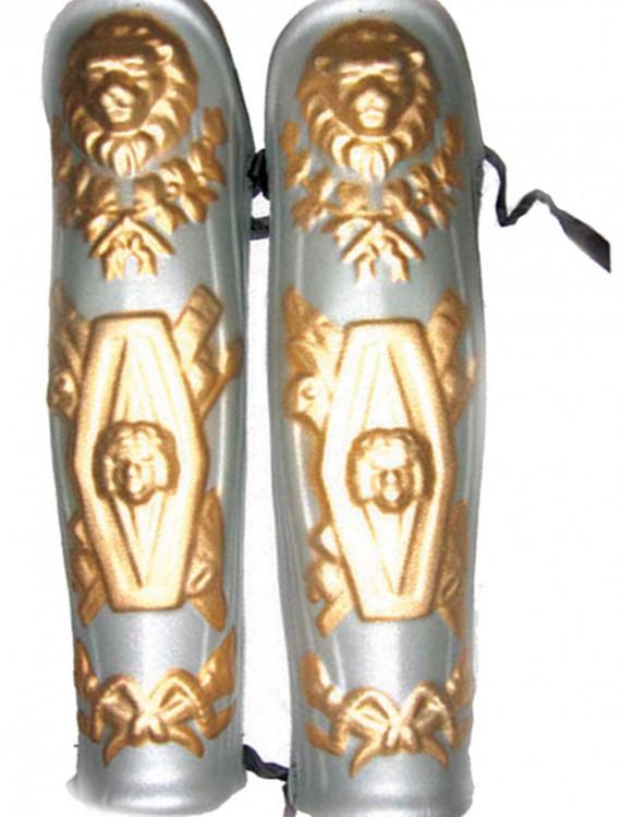 Spartan Leg Shields, halloween costume (Spartan Leg Shields)