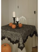 Spider Web and Bat Table Topper, halloween costume (Spider Web and Bat Table Topper)