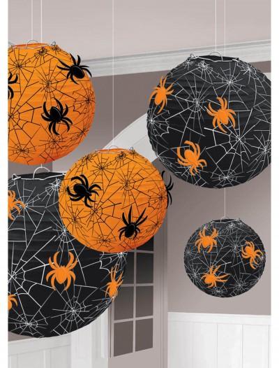 Spider Web Printed Lantern, halloween costume (Spider Web Printed Lantern)