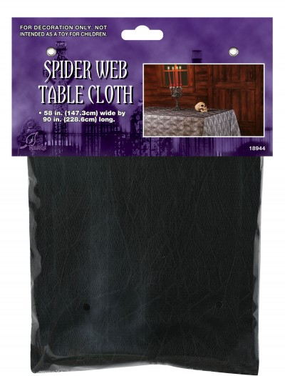 Spider Web Table Cloth, halloween costume (Spider Web Table Cloth)