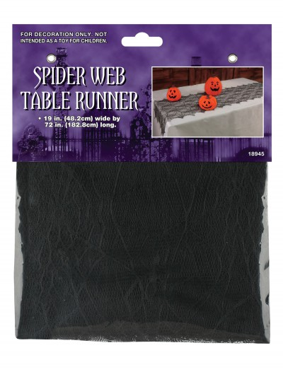 Spider Web Table Runner, halloween costume (Spider Web Table Runner)