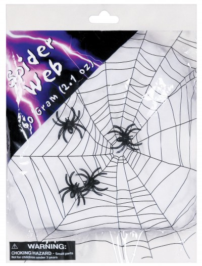 Spider Web with Spiders, halloween costume (Spider Web with Spiders)