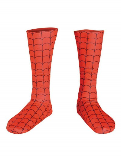 Spiderman Adult Boot Covers, halloween costume (Spiderman Adult Boot Covers)