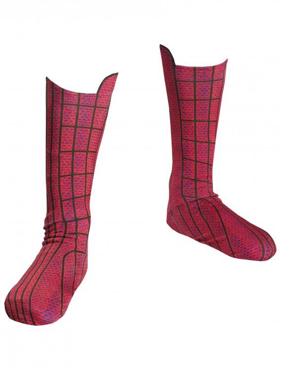 Spiderman Movie Child Boot Covers, halloween costume (Spiderman Movie Child Boot Covers)