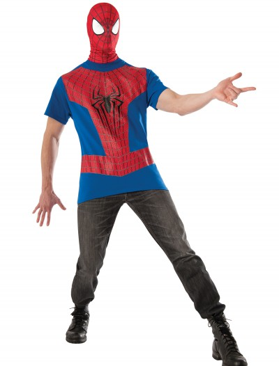 Spiderman Shirt and Mask, halloween costume (Spiderman Shirt and Mask)