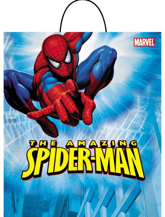 Spiderman Trick-or-Treat Bag, halloween costume (Spiderman Trick-or-Treat Bag)