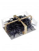 24 Rubber Spiders in a Box, halloween costume (24 Rubber Spiders in a Box)