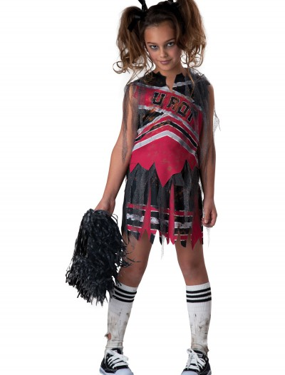 Spiritless Cheerleader Child Costume, halloween costume (Spiritless Cheerleader Child Costume)