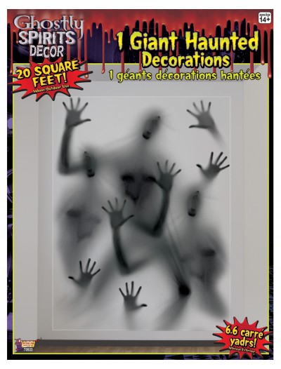 Spirits Jumbo Wall Decoration, halloween costume (Spirits Jumbo Wall Decoration)