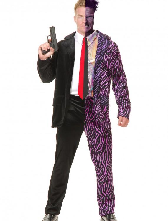 Split Personality Villain Costume, halloween costume (Split Personality Villain Costume)